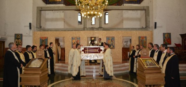 În seara zilei de joi, 14 august, Preasfinţitul Părinte Sebastian, înconjurat de un numeros sobor de preoţi şi diaconi, a săvârşit slujba Privegherii la Catedrala Episcopală din Slatina, prilej cu […]