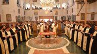 În seara zilei de duminică, 14 august, Preasfinţitul Părinte Sebastian, înconjurat de un numeros sobor de preoţi şi diaconi, a săvârşit slujba Deniei Prohodului Maicii Domnului la Catedrala Episcopală din […]
