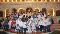 Duminică, 25 decembrie, în ziua praznicului Nașterii Mântuitorului Hristos, Preasfințitul Părinte Sebastian a slujit Sfânta Liturghie la catedrala episcopală din Slatina. La final, Preasfinția Sa a felicitat pe cei prezenți […]