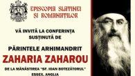 """Duminică, 28maia.c., orele 18.00, la Casa de Culturăa Sindicatelor din Mun. Slatina va avea loc conferința """"Viața vremelnică a omului, adumbrită de veșnicia lui Dumnezeu, în Sfânta Sa Biserică"""", susținută […]"""
