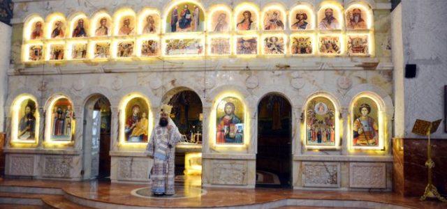 """Duminică, 18 iunie, Preasfințitul Episcop Sebastian a slujit Sfânta Liturghie la Catedrala episcopală. Aflându-ne în Duminica sfinților români, în cuvântul de învățătură Preasfinția Sa a menționat faptul că """"și poporul […]"""