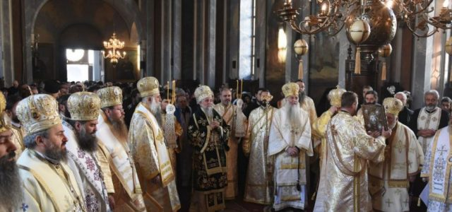 Pomenirea Sfântului Cuvios Grigorie Decapolitul a adunat la Mănăstirea Bistriţa sute de credincioși din toată ţara, care s-au închinat la racla în care sunt așezate moaștele sfântului și au participat […]