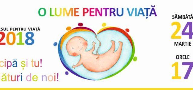 Marșul pentru viață 2018 la cea de a VIII-a ediție în Episcopia Slatinei și Romanaților Sâmbătă, 24 martie 2018, începând cu orele 17.00, în municipiile și orașele din cuprinsul Episcopiei […]