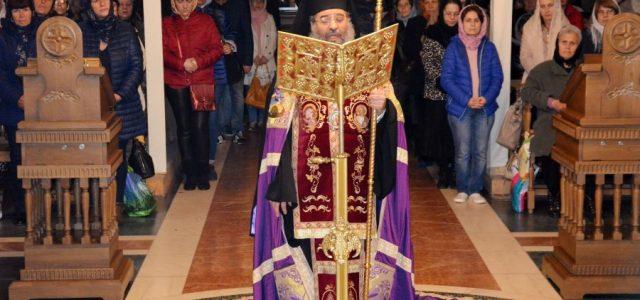 Vineri 12 aprilie, Preasfințitul Episcop Sebastian a slujit Denia Acatistului Bunei Vestiri la catedrala episcopală. În cuvântul de învățătură, Preasfinția Sa a vorbit despre istoria alcătuirii Imnului Acatist și despre […]