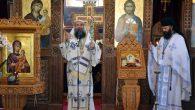 """Duminică, 11 august, Preasfințitul Episcop Sebastian a slujit Sfânta Liturghie la Mănăstirea Căluiu. La finalul Sfintei Liturghii, Preasfinția Sa a tâlcuitEvanghelia înmulțirii pâinilor: """"Mântuitorul dă pe fațăadevăratul entuziasmal mulțimii care-l […]"""
