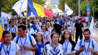 """Sala Polivalentă din Craiova a găzduit vineri, în cea de-a doua zi a ITO 2019, conferința """"Pelerini într-o lume atee"""", susținută de Înaltpreasfințitul Părinte Mitropolit Irineu, Arhiepiscopul Craiovei și Mitropolitul […]"""