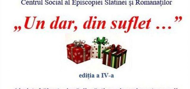 """Colecta de Crăciun """"Un dar, din suflet…"""""""