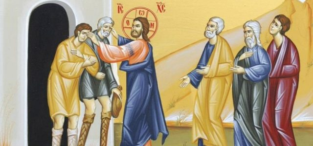 """CUVÂNTUL IERARHULUI Facem fapte bune, sau facem """"spectacol""""? Duminica a VII-a după Rusalii (Vindecarea a doi orbi și a unui mut − Mt. 9, 27-35) Ne reproșează unii că """"Biserica […]"""