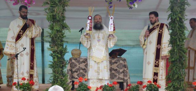 """Duminică, 19 iulie, Preasfințitul Episcop Sebastian a resfințit biserica Parohiei Bătăreni din com. Colonești. La finalul Sfintei Liturghii arhierești, Preasfinţia Sa a tâlcuitEvanghelia vindecării slăbănogului din Capernaum: """"Evanghelia de astăzi […]"""