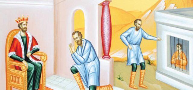 IERTĂM, SAU DOAR PRETINDEM IERTARE? CUVÂNTUL IERARHULUI DUMINICA A XI-A DUPĂ RUSALII (Pilda datornicului nemilostiv – Mt. 18, 23-35) Te-ai regăsit în evanghelia de azi? Nu?!… Cum în care dintre […]